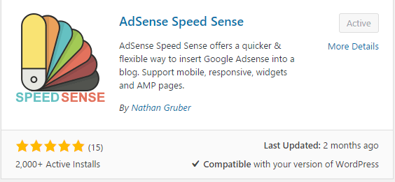 AdSense Speed ​​Sense
